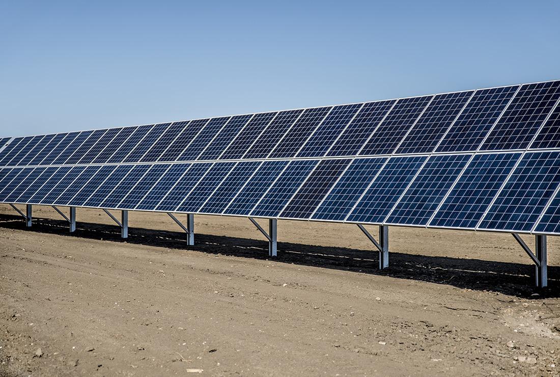 Solar Arrays Grace Energy